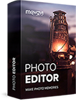 Movavi Photo Editor for Mac � Business boxshot